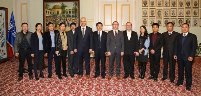 Çin heyeti Bursa'ya hayran kaldı
