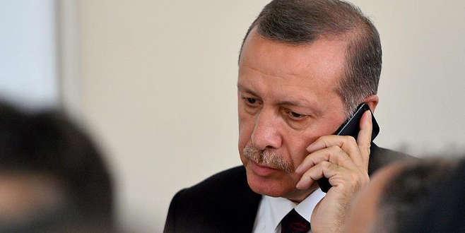 Erdoğan'dan TRT'ye 'geçmiş olsun' telefonu