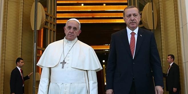 Erdoğan'dan Kudüs için önemli hamle: Papa'yla da görüşeceğim
