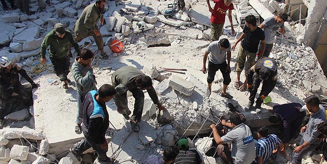 Suriye'de bir ayda 410 sivil hayatını kaybetti