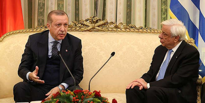 Cumhurbaşkanı Erdoğan'dan Yunanistan'da 'Lozan' çıkışı