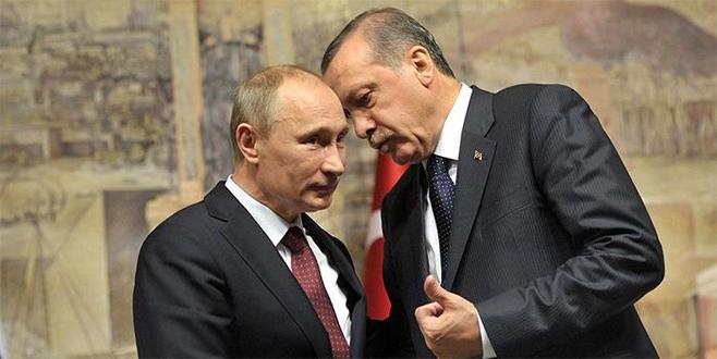 Putin'den Erdoğan'a yeni yıl mesajı