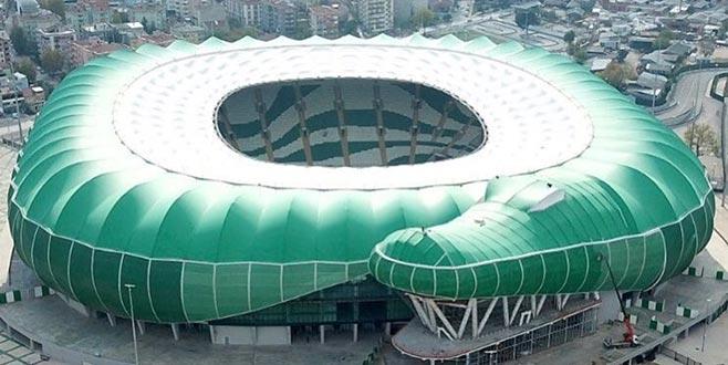 Bakan'dan stadyum için destek
