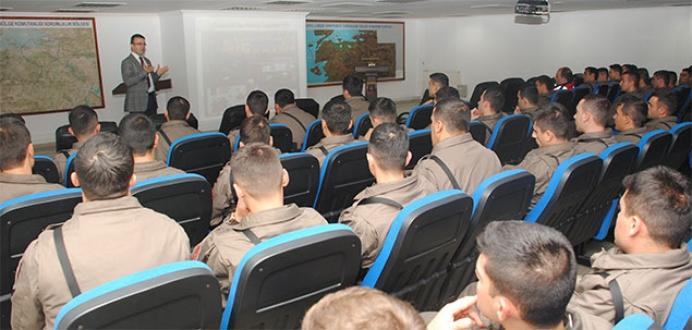 Jandarmaya halkla ilişkiler eğitimi