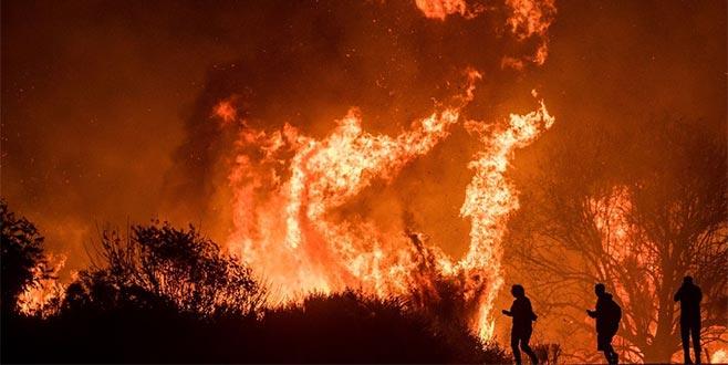 Tarihinin en büyük beşinci orman yangını! Kontrol altına alınamıyor