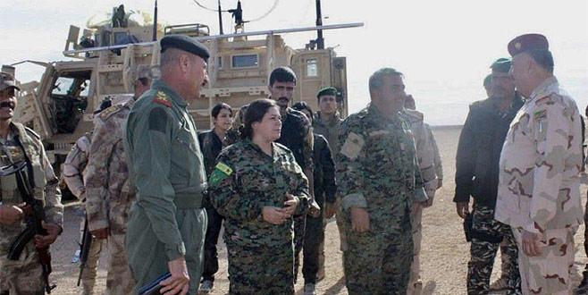 Skandal! ABD'li komutanlar YPG'lilerle görüştü
