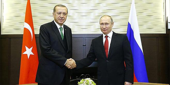 Erdoğan-Putin'in görüşmesi başladı