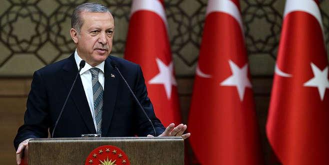 Erdoğan: Ezici çoğunlukla kabul edilmesini memnuniyetle karşılıyoruz