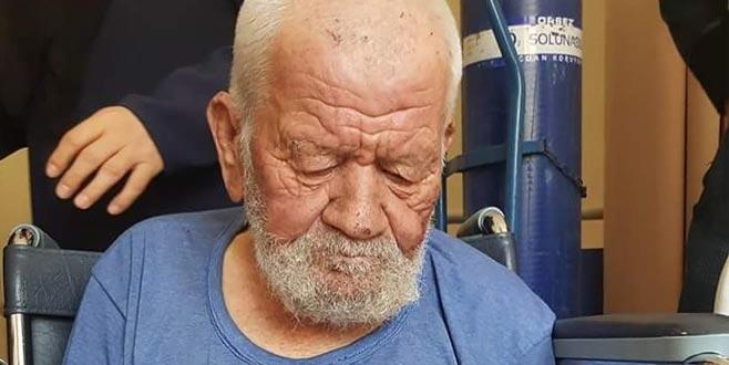 Kaybolan yaşlı adam 24 saat sonra bulundu