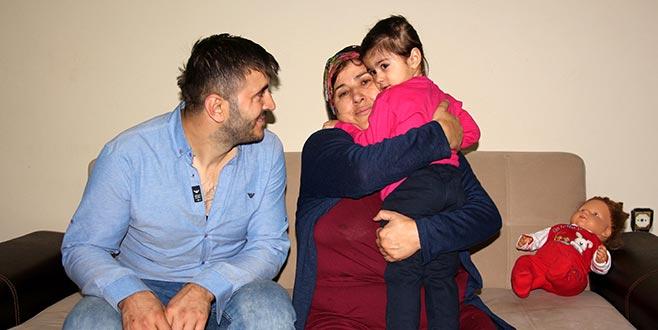 Eşinin kızına şiddetini kameraya kaydeden baba kızına kavuştu