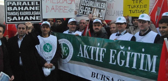 Bursa'da 14 Aralık protestosu