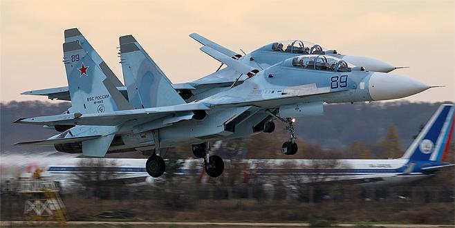 Rus uçakları Suriye'yi terk etti