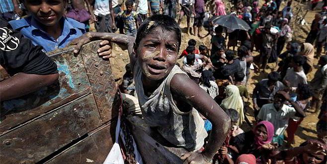 Myanmar'da Müslüman katliamı