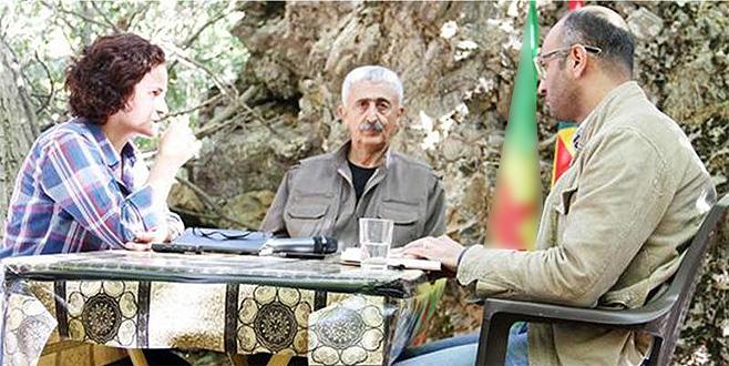 Suudi Arabistan gazetesinden PKK'lı teröristle röportaj