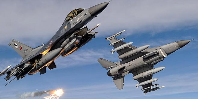 TSK'dan Irak'ın kuzeyine hava harekatı