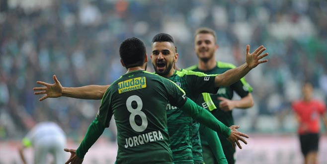 Bursaspor'da Trabzonspor'a karşı 4 eksik