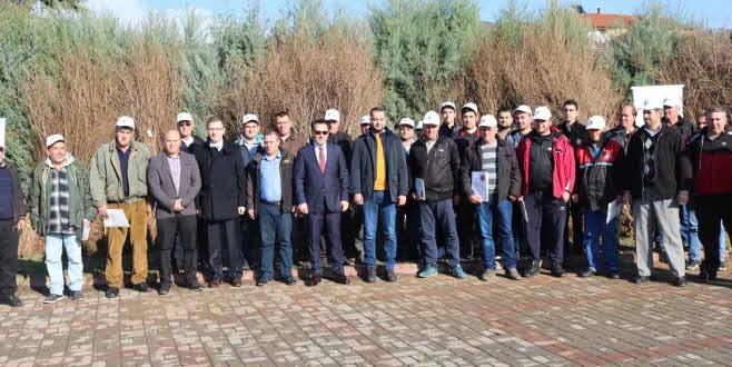 TİKA'dan Makedonya'da meyveciliğin geliştirilmesine destek