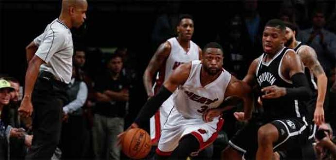 Wade, Miami Heat'i galibiyete taşıdı