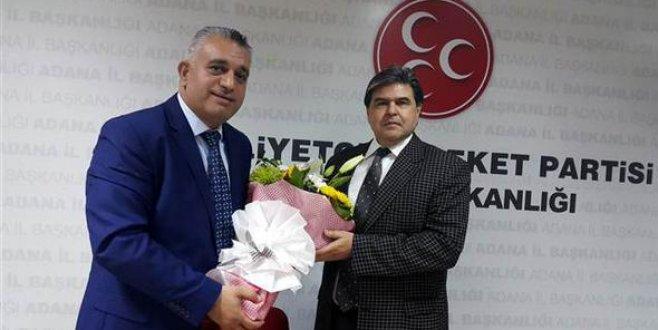 MHP Adana İl Başkanı istifa etti. İşte yerine atanan isim...