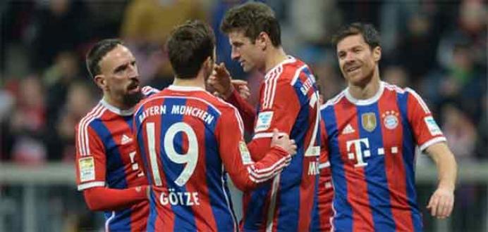 Bayern Münih ilk yarıyı garantiledi