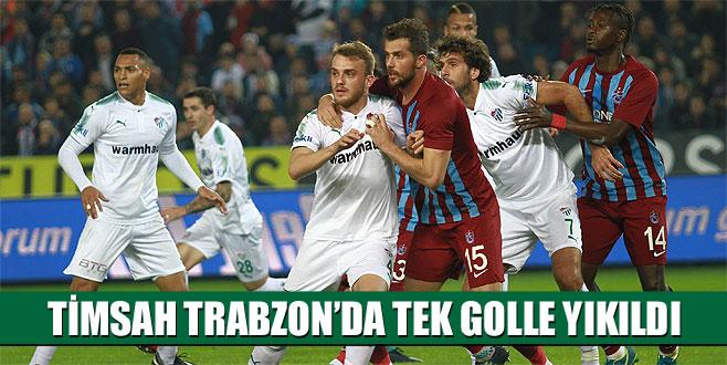 Trabzonspor 1-0 Bursaspor (Maç Sonucu)
