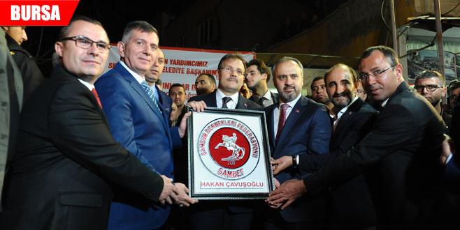 Çavuşoğlu: 'Cumhurbaşkanı tüm ümmetin umudu'