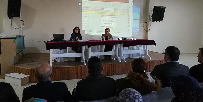 Öğrencilere tüketici hakları anlatıldı