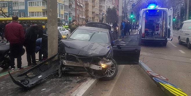 Bursa'da korkutan kaza! Okul çıkışı...