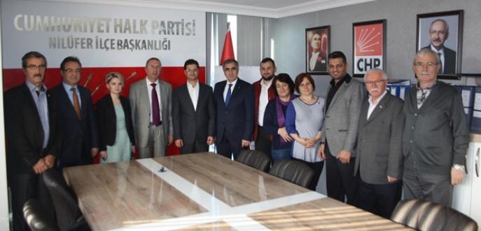 Celil Çolak'tan CHP ve MHP'ye ziyaret