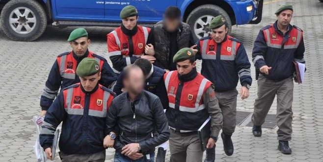Bursa'da kablo hırsızlığı