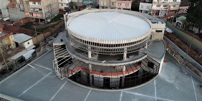Demirtaş Kültür Merkezi'nde sona yaklaşıldı