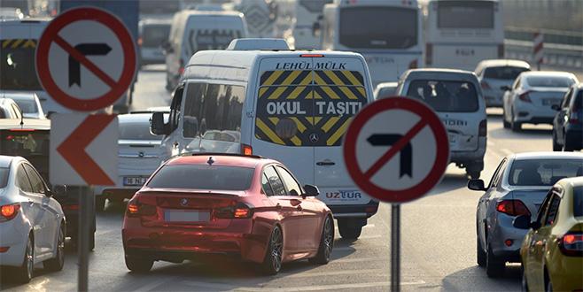 Bursa'da 25 kavşak yeniden düzenleniyor