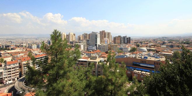 Konutta İstanbul inişte Bursa ise...