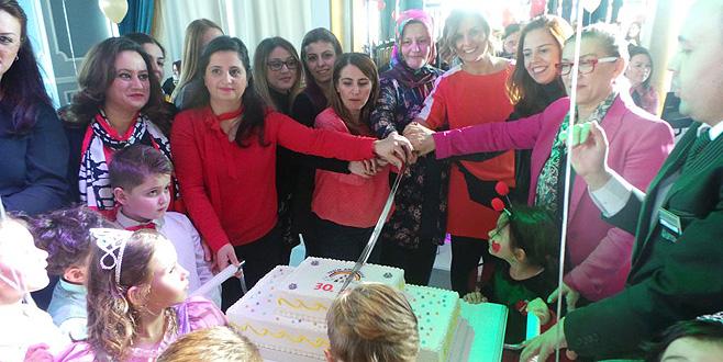 Yeşim Kreşi'nin 30'uncu yılında yeni yıl coşkusu