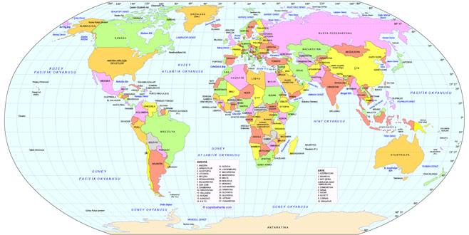 Bu harita koca bir yalanmış meğer