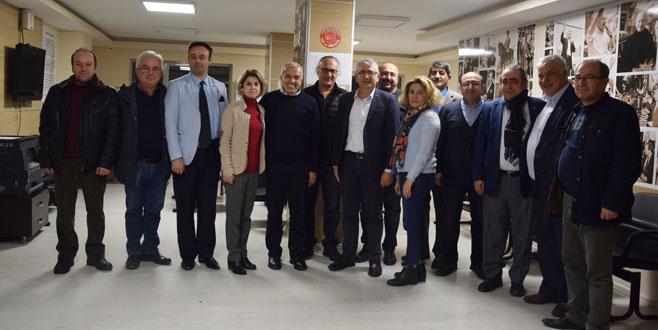 ARSİYAD'dan CHP Bursa'ya ziyaret