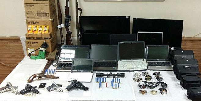Hırsızlık çetesine operasyon: 15 gözaltı