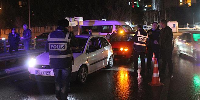 Bursa'da 2 bin polisle 'huzur uygulaması'