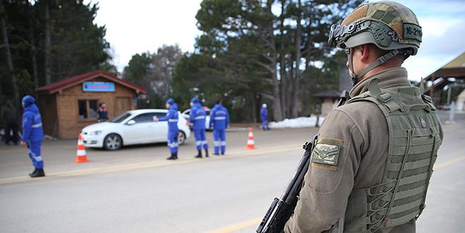 Jandarma yılbaşında Uludağ'da kuş uçurmayacak