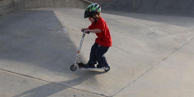 'Oyuncak skuter'a denetim