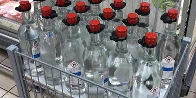 Etil alkol etiketine 'gıda' uyarısı