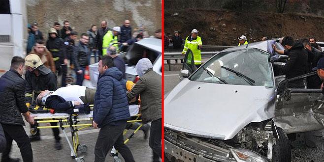 Kaza üstüne kaza: 1 ölü, 1 yaralı