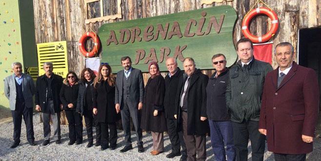 Adrenalin Parkdoğa sporlarının merkezi olacak