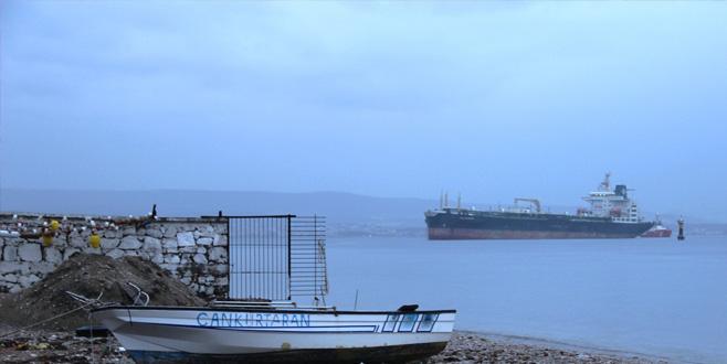 Çanakkale Boğazı'nda gemi arızası