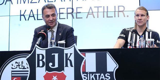 Vida resmen Beşiktaş'ta