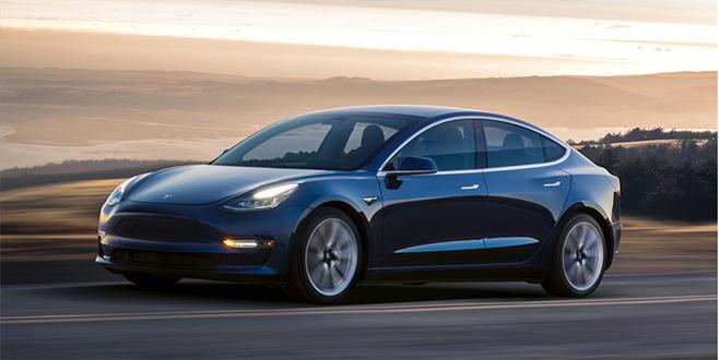 Tesla'nın elektrikli otomobili Amerika kıtası rekorunu kırdı