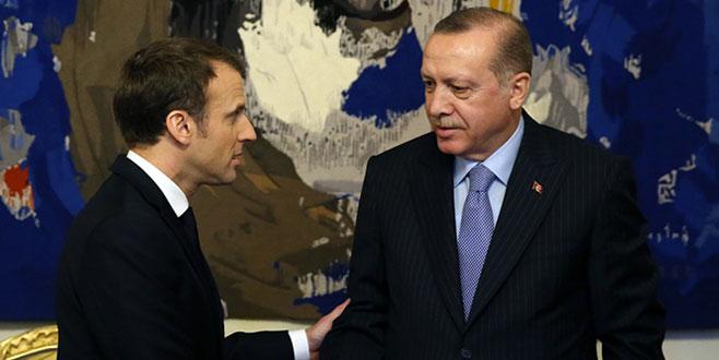 Erdoğan'dan Fransız gazeteciye ayar!