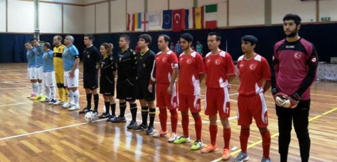 Futsal'da büyük başarı!