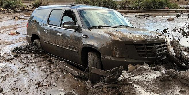 Kaliforniya'da sel baskını