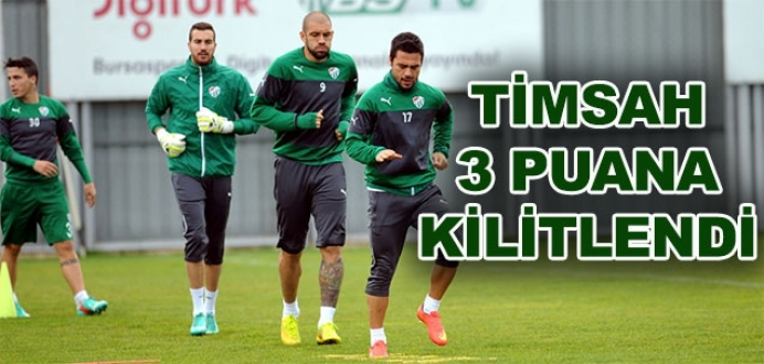 Bursaspor, Trabzonspor'a karşı galibiyet istiyor